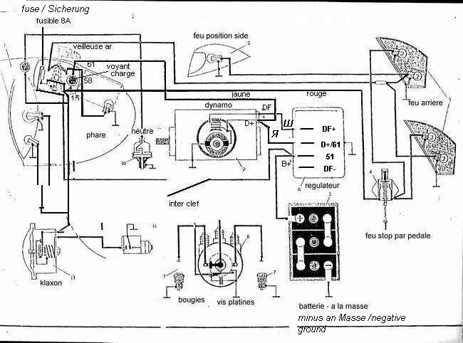 dnepr motorcycle wiring schematic powerdynamo, replacement regulator for diverse stock 6v ... 1970 triumph motorcycle wiring diagrams