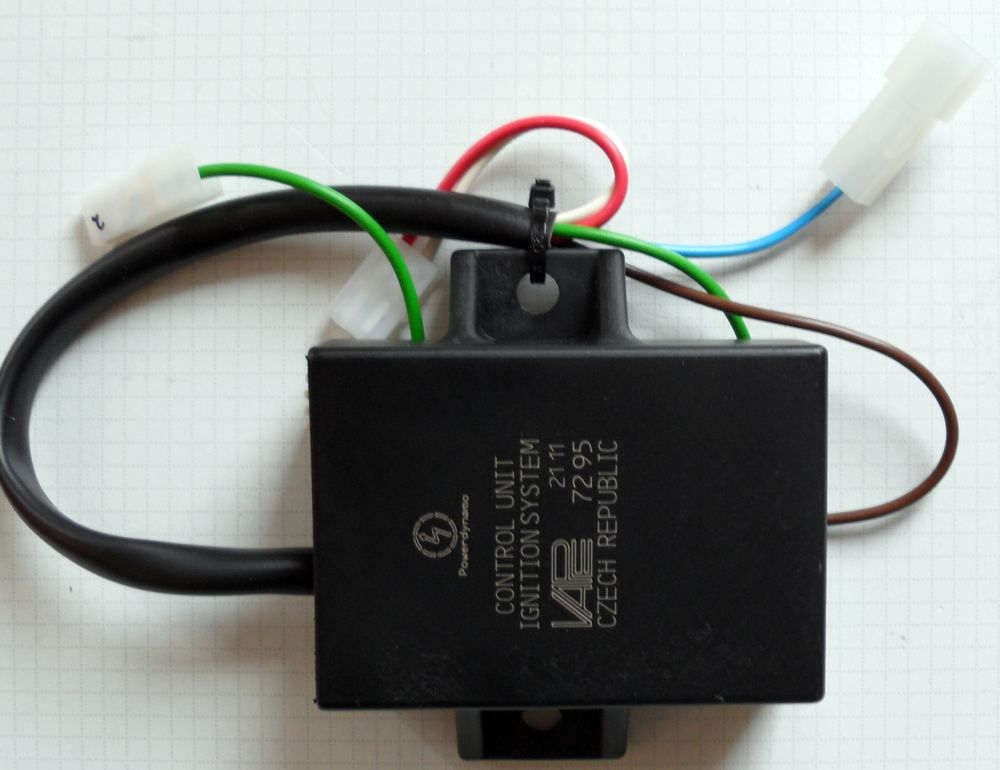 Powerdynamo, the function of the blue (blue/white) wire