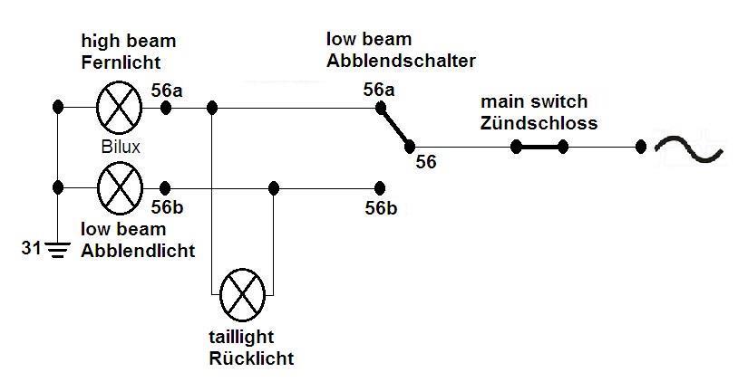 Powerdynamo, System für Motor Sachs 98, 74ccm und 98ccm, 6V/18W ...