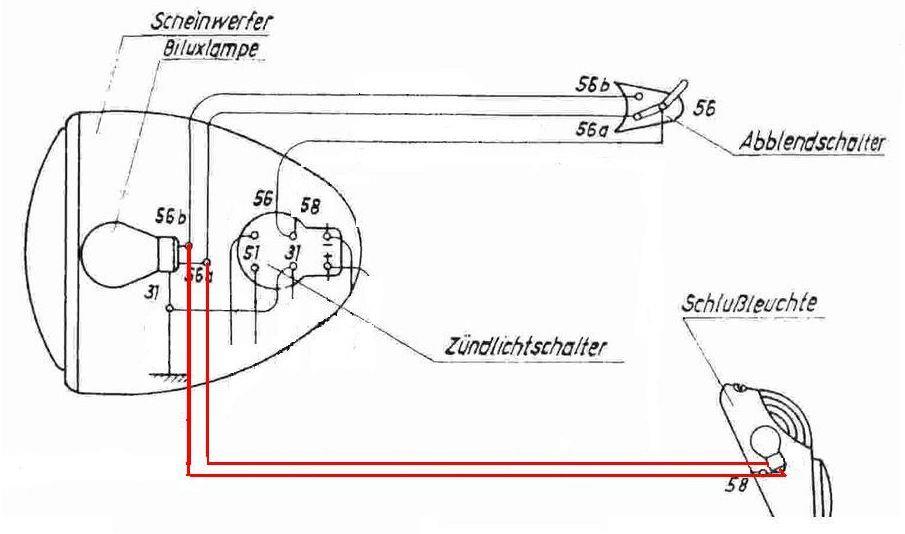 Einbauanleitung, Powerdynamo Lichtmagnetzuendung 6V/18W passend für ...