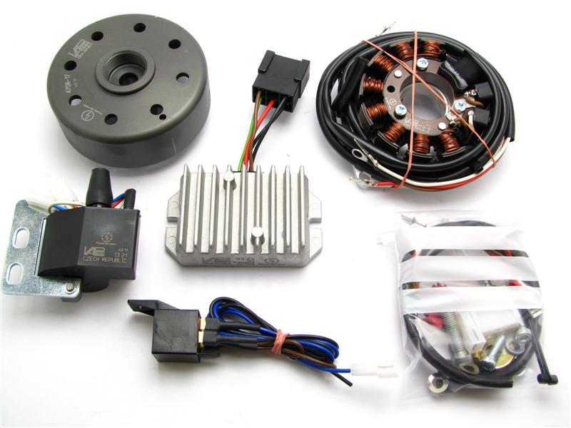 powerdynamo for maico 250b bw