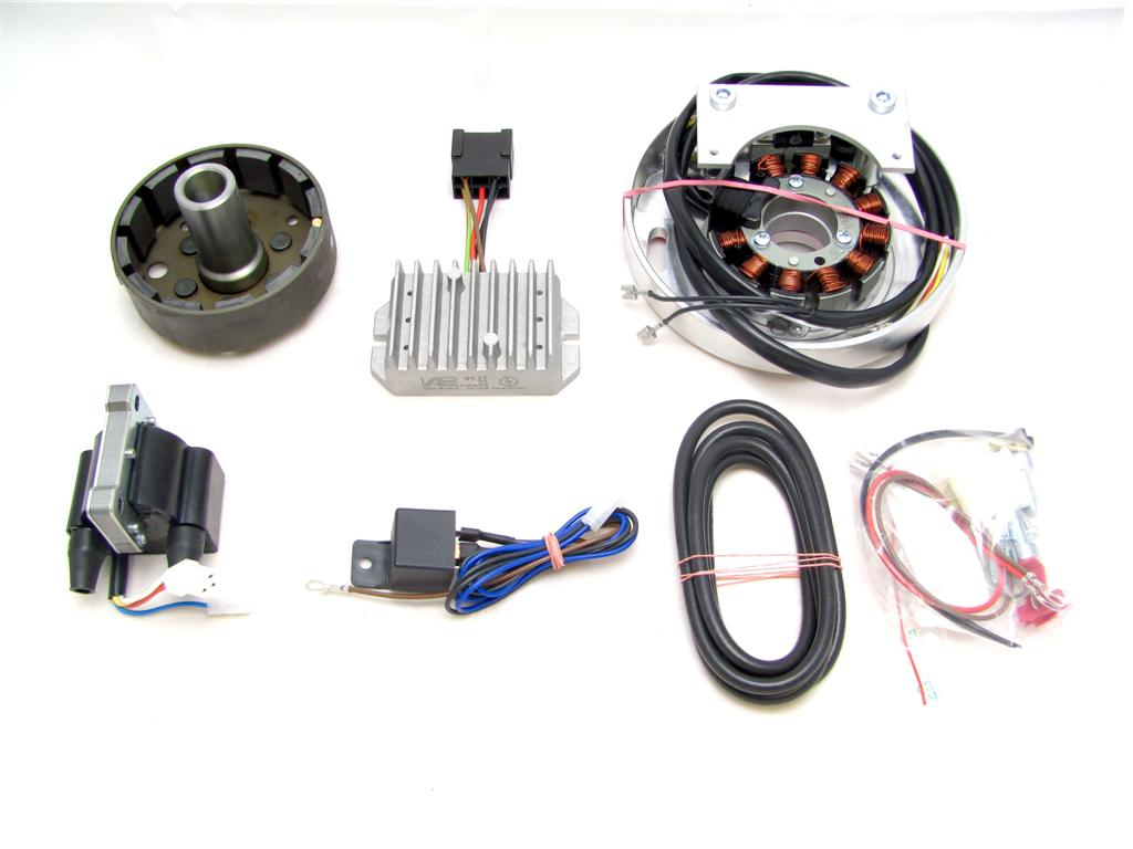 assembly instructions · parts in the pack (photo) · wiring diagram