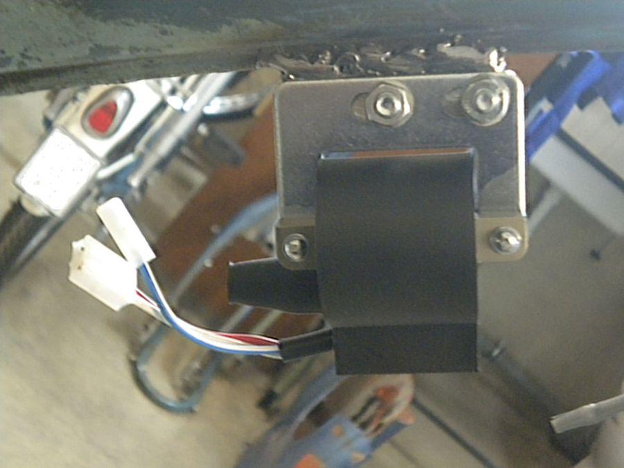 Powerdynamo, Installationsanleitung für NSU Quickly 6V/18W System
