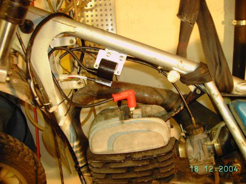 powerdynamo assembly instruction for bultaco pursang twin ignition fasten the ignition coil on the frame of the motorcycle best there where the original coil was