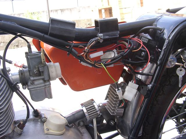 Powerdynamo Installationsanleitung For Puch 6 Speed