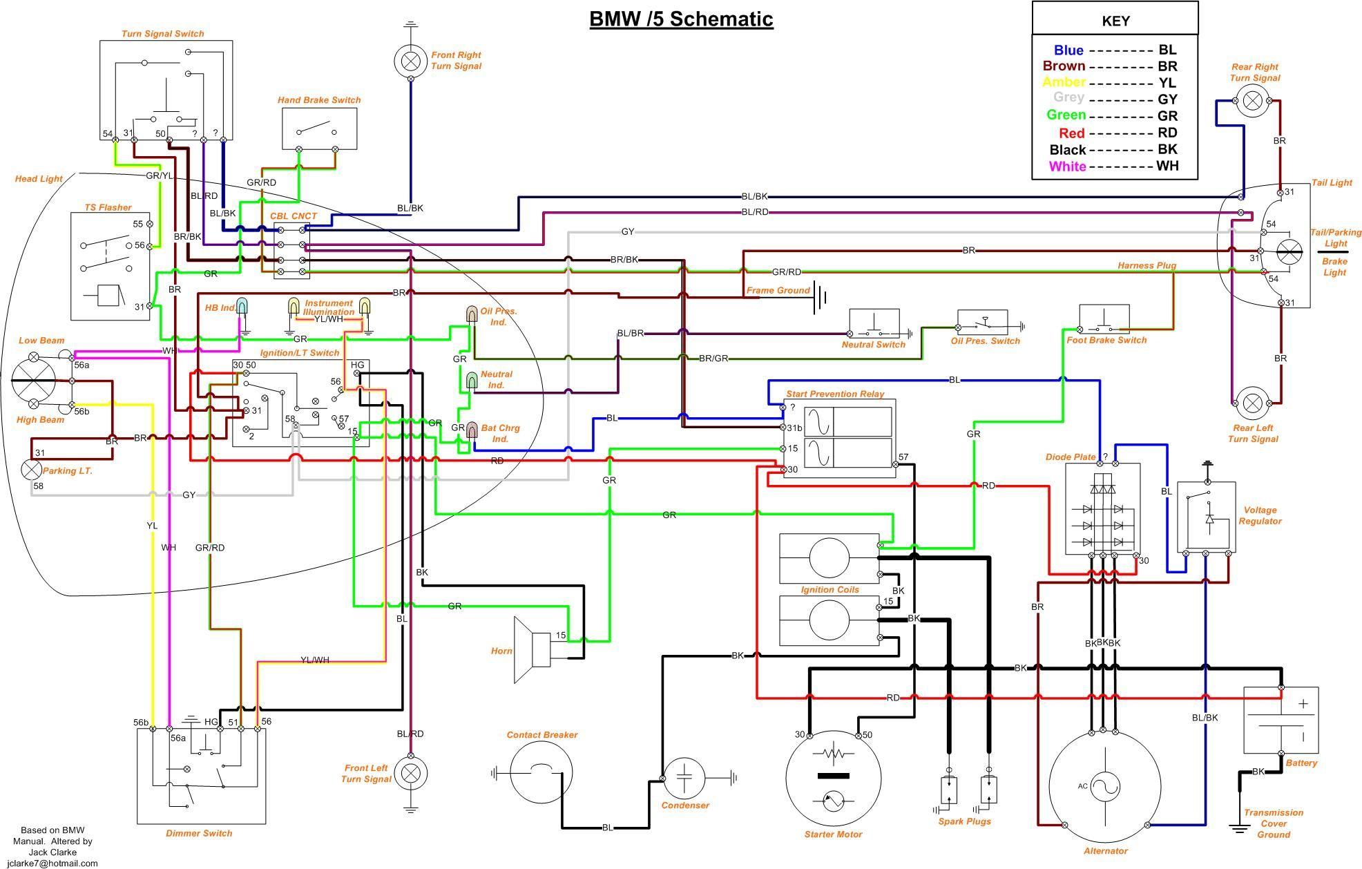 Powerdynamo, Installationsanleitung für BMW /5 Modelle
