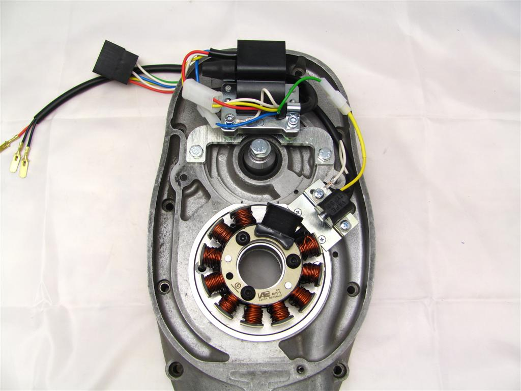 Powerdynamo assembly instructions for 6V BMW R50,R50S,R60,R51/3 ,R67,R68,R69,R69S