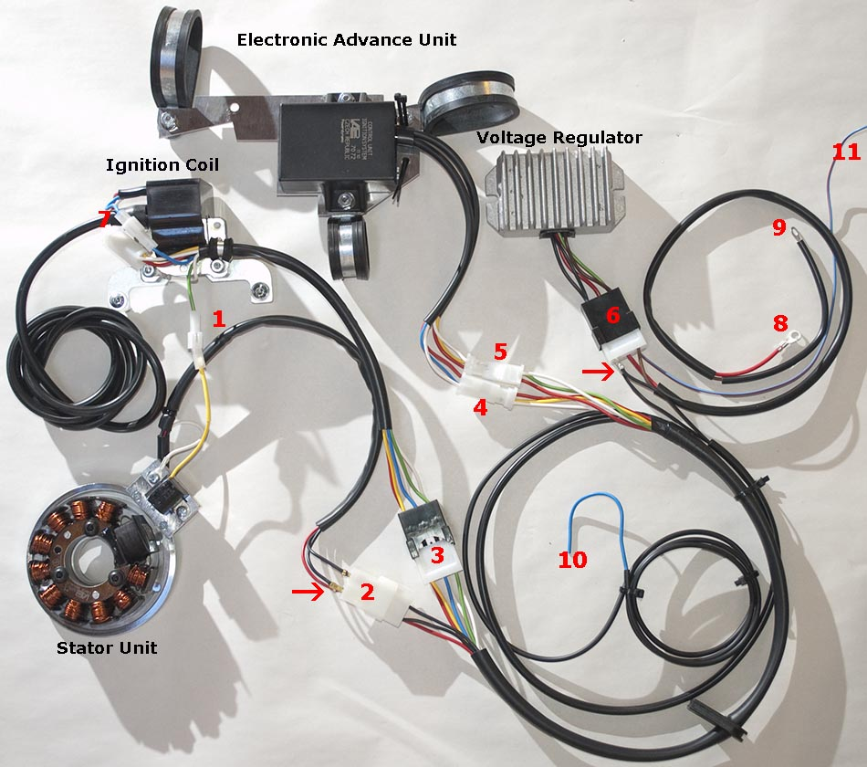 powerdynamo assembly instructions for 6v bmw r50 r50s r60 r51 3 this is how the parts are connected between them on a table