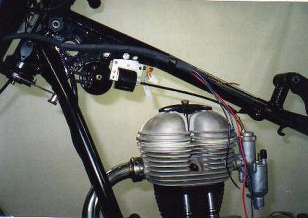 Powerdynamo For Bmw R25 And R26