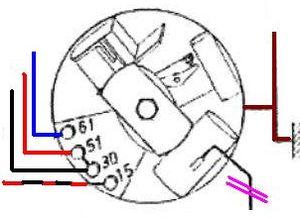 Powerdynamo assembly instructions for BMW R25, R25/2, R25/3, R26 | Bmw R25 2 Wiring Diagram |  | www.powerdynamo.biz