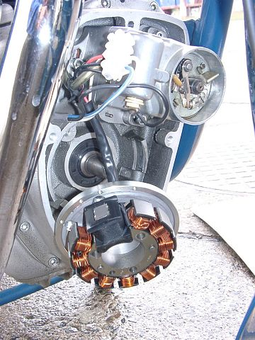 Powerdynamo, Lichtmaschine 12V passend für Simson AWO 425