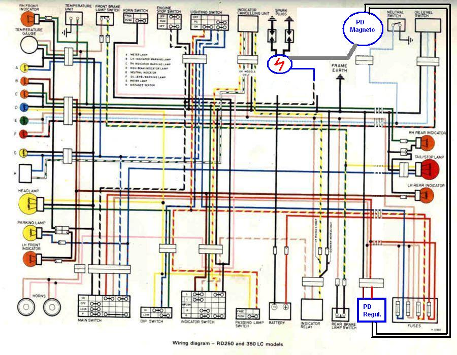 yamaha rd 350 wiring diagram  wiring diagram powerwindowa