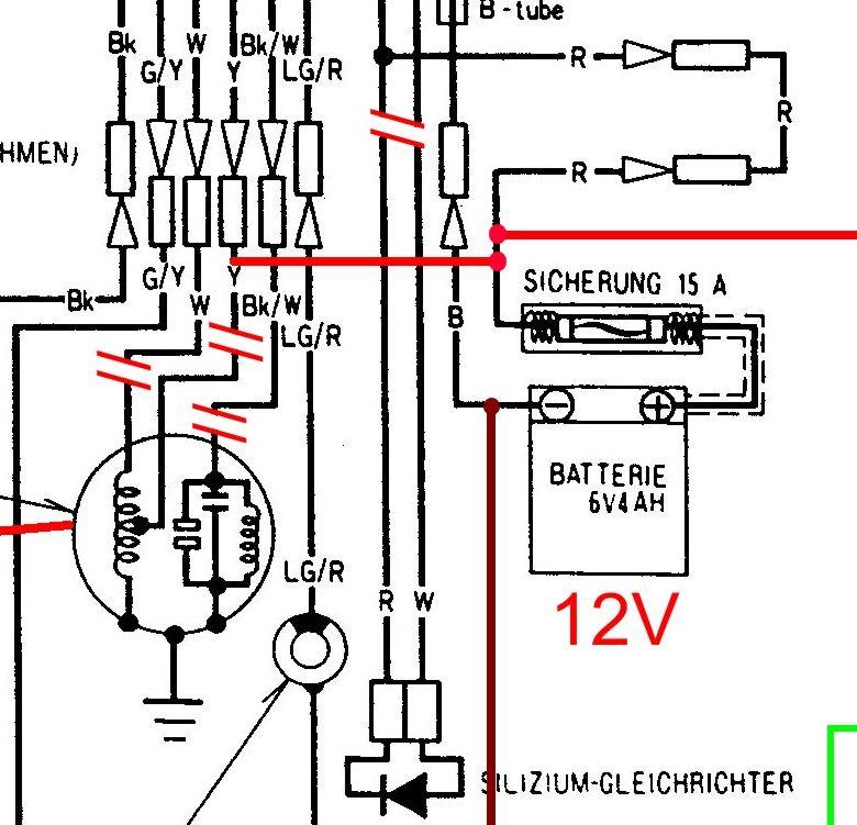 powerdynamo  installationsanleitung f u00fcr honda cy50  cb50