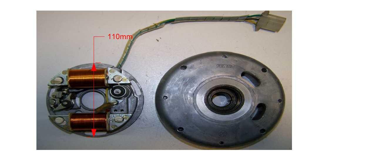 Powerdynamo, System for HVA WR 250, 360 with stock FEMSA ... on