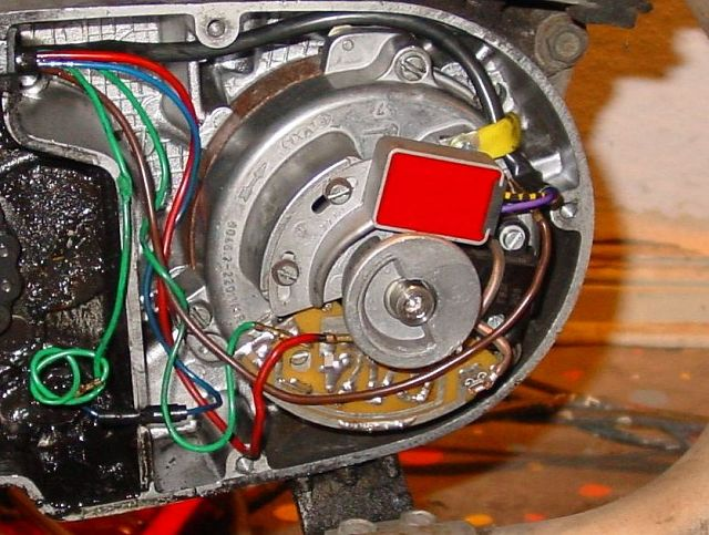 mz muz riders • view topic etz 301 ignition question the other kind the same as in the wiring diagram i posted earlyer and the kind fitted to my 301 engine just has the ignition rotor and trigger sensor