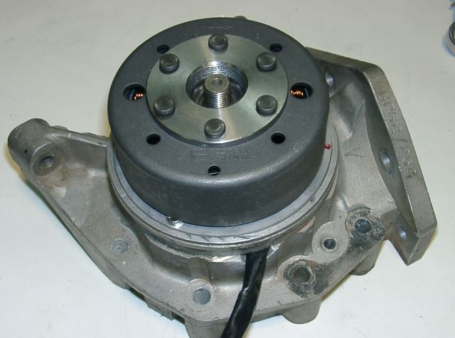 Powerdynamo For Greeves Griffon With Motoplat Ignition