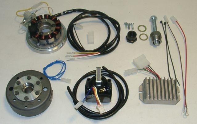 powerdynamo for bultaco pursang  twin spark