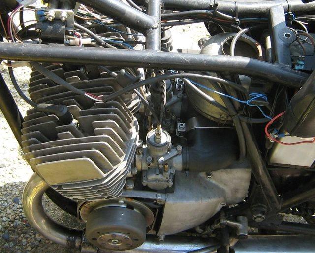 Powerdynamo for Kawasaki H1A, H1B (Mach III) on