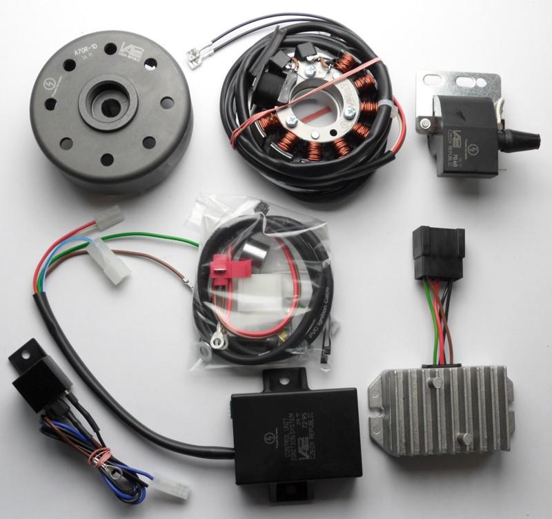 powerdynamo, assembly instruction for gilera 124extra \u0026 giubileo 202 Moto Gilera Motorcycle Gilera 124 Wiring Diagram #11