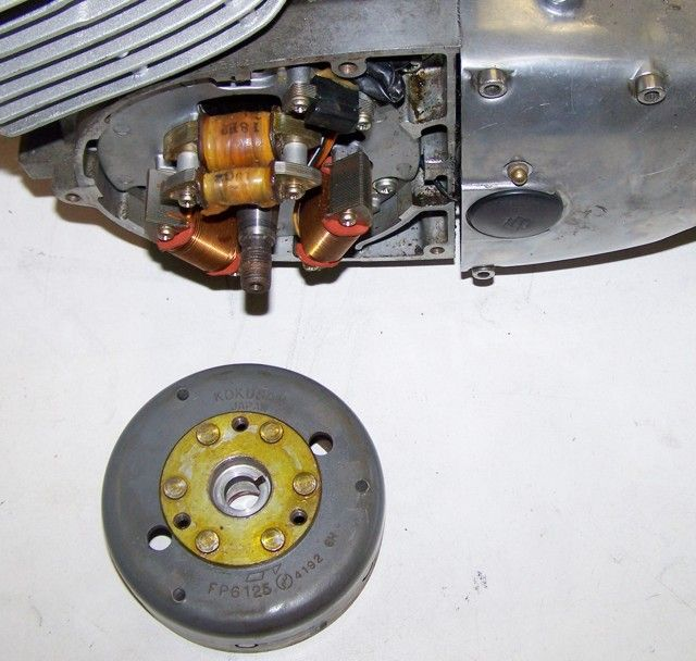 Powerdynamo, assembly instructions for Suzuki T/GT 250-500 with ...