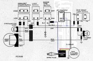 powerdynamo assembly instruction for suzuki pe 175 250 rh powerdynamo biz 1984 Pe 175 1984 Pe 175