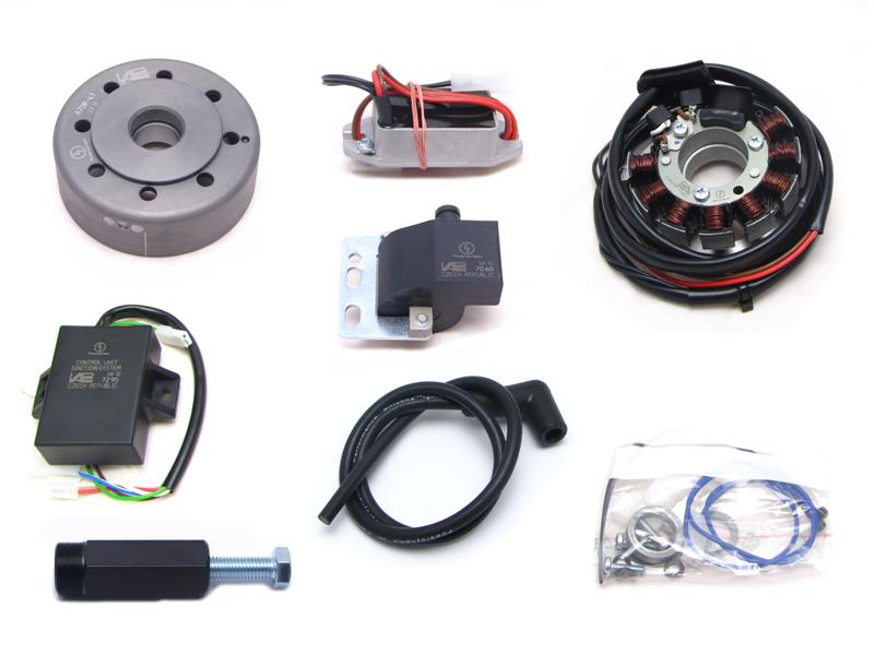 Powerdynamo generator ignition system for Ducati 100 250