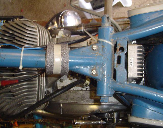 Powerdynamo, assembly instruction for ISH Jupiter 2/3 (2 cylinder)