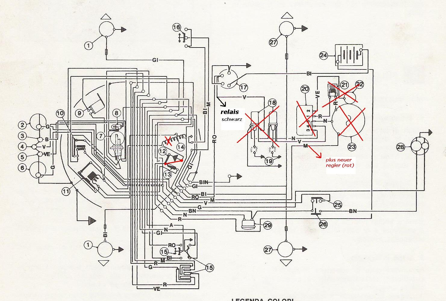 benelli wiring diagram