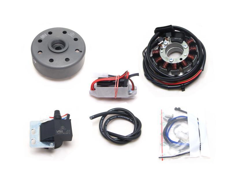 Suzuki RV/AP/GT/TS 50/80, TS125 Powerdynamo Lichtmaschine + Zündung