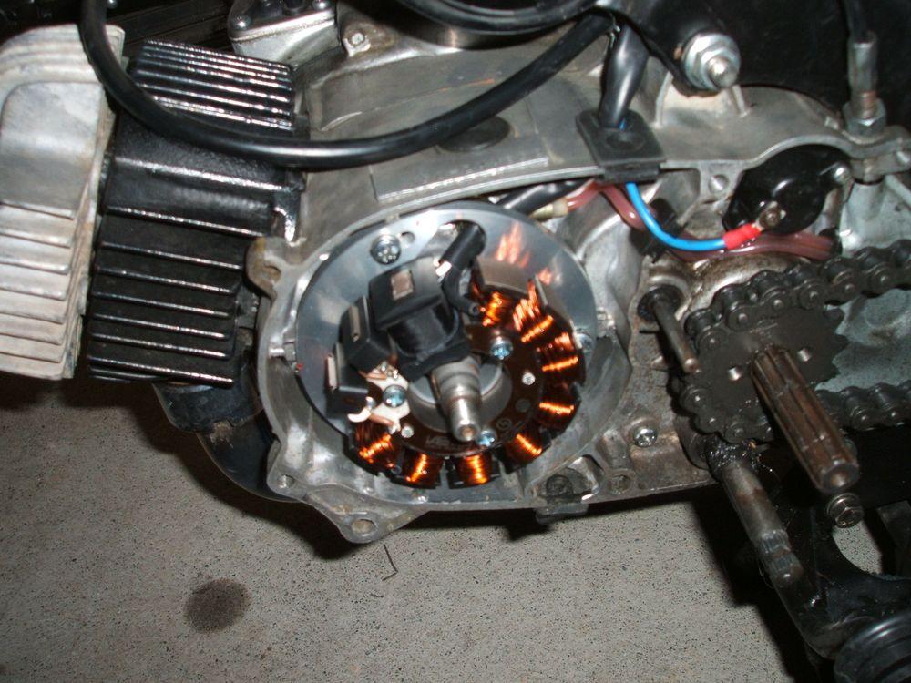 Powerdynamo für Suzuki AP/GT 50(80/125 und TS80/125