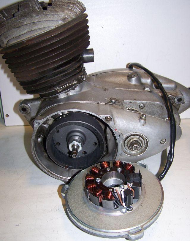 Powerdynamo For Bsa Bantam D1 To D7