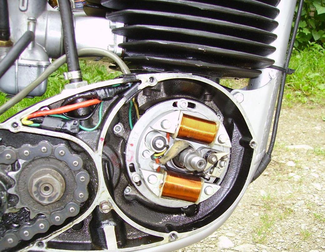 Femsa Wiring Diagram Data Bultaco Engine Powerdynamo Husquarna With 115mm Ignition Fema Wire