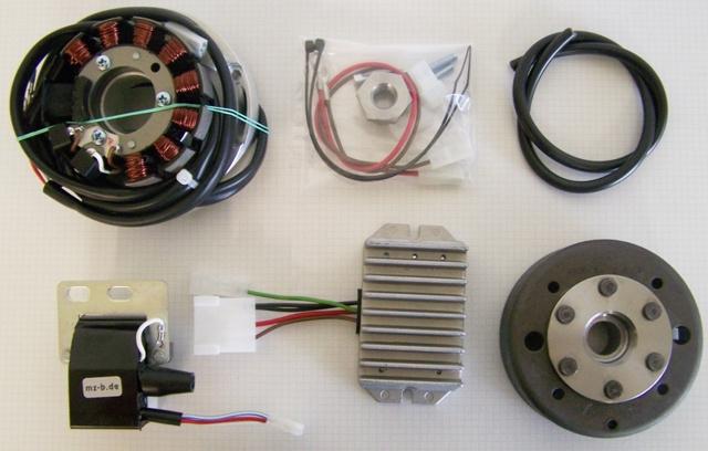 Powerdynamo  Einbauanleitung F U00fcr Suzuki Rmx 250  1989