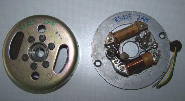 Powerdynamo F U00fcr Yamaha Rs 100  125  130mm Platte