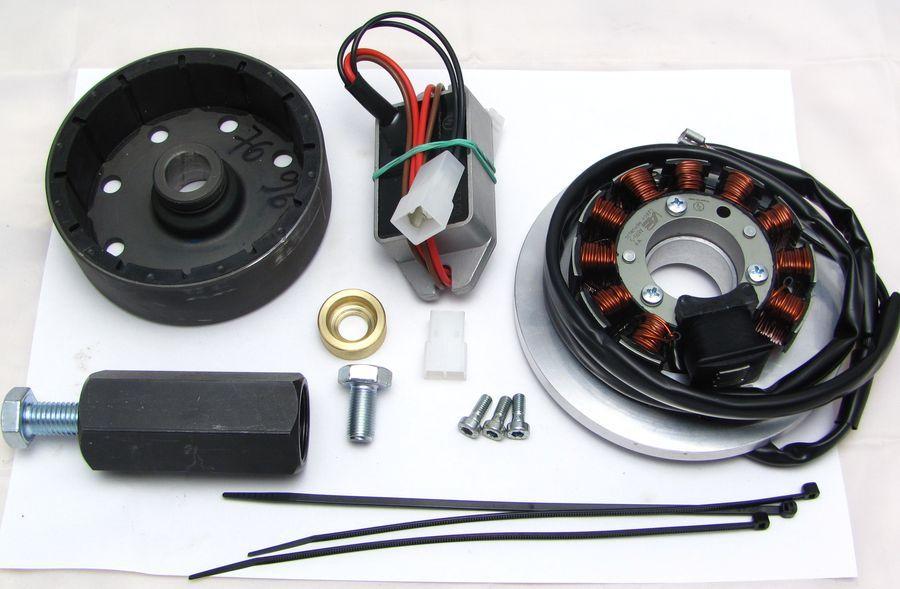Powerdynamo, nur Lichtmaschine (ohne Zündung) für Honda CB450