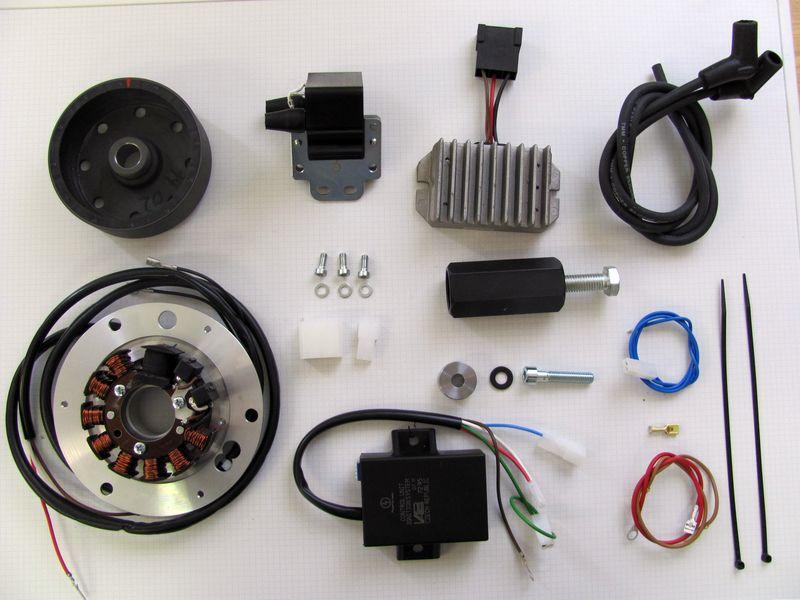 powerdynamo for honda cb450, Wiring diagram