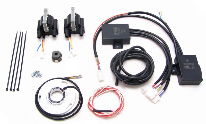 Powerdynamo, Installationsanleitung für Zündung Kawasaki Z400J und 650