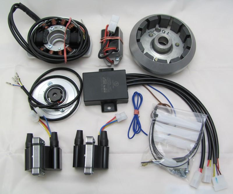 Powerdynamo, Installationsanleitung für Honda CB 750