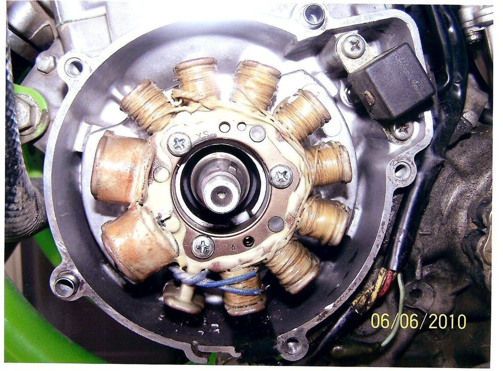 Powerdynamo  Assy Instructions For Kawasaki Kdx 125