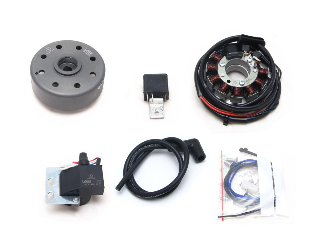 Powerdynamo Assembly Instructions For Ktm Type 545 With 110mm Base Furthermore 5 Wire Stator Wiring Diagram On Dc