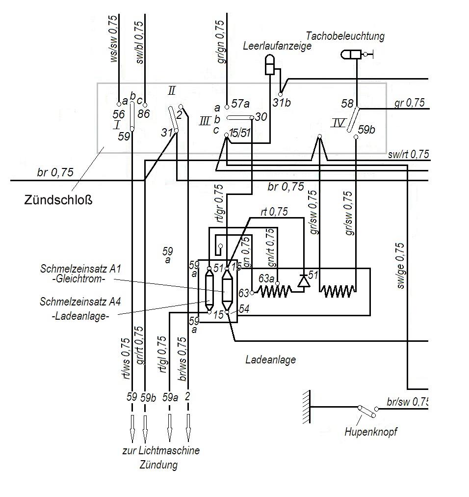 Powerdynamo passend für Simson Vogelserie (Gleichstromsystem)
