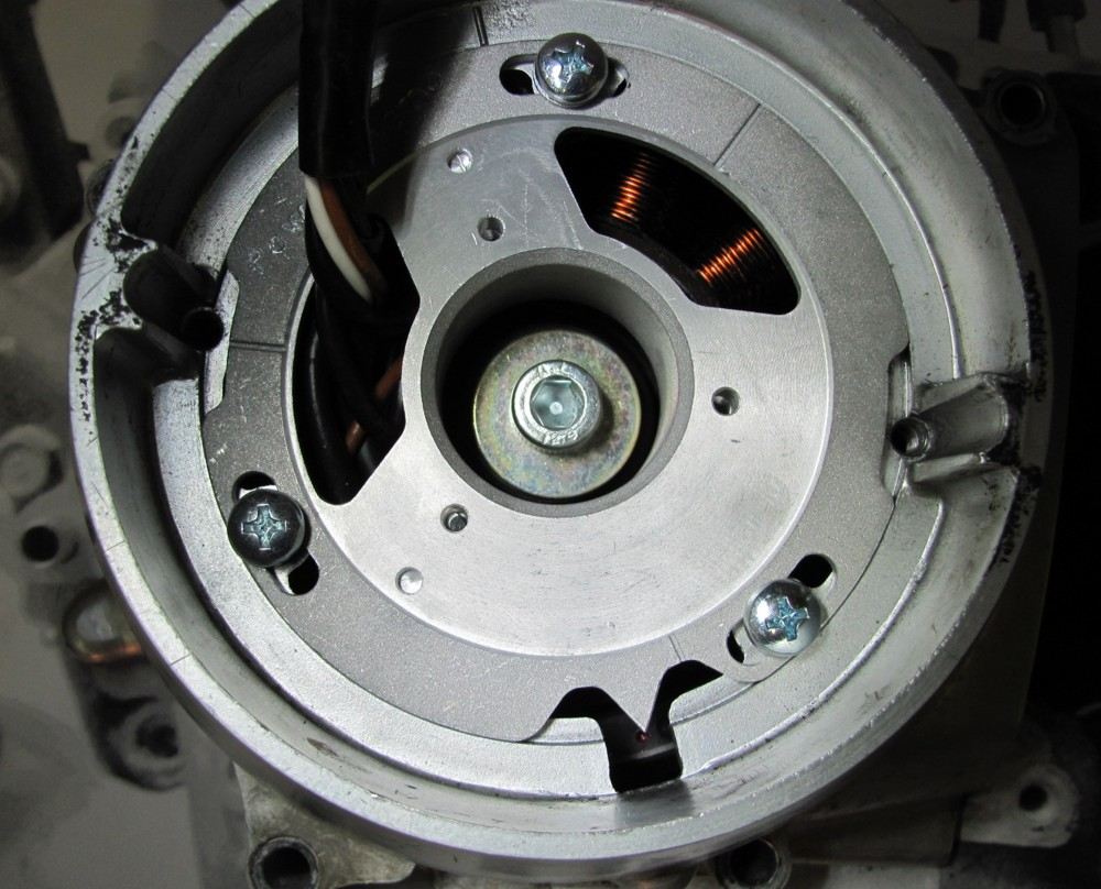 Powerdynamo, Einbauanleitung Honda CB 125 T