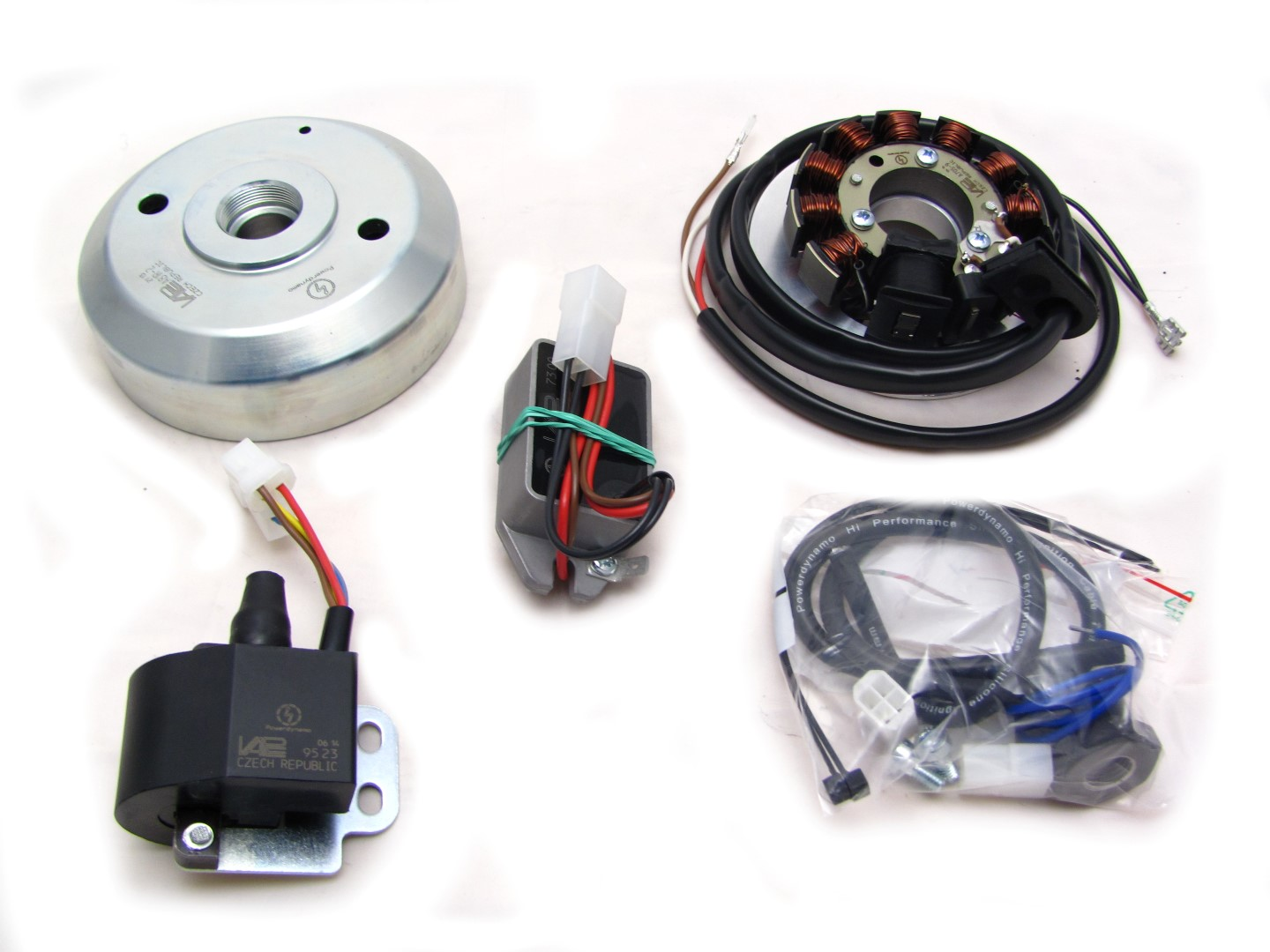 Powerdynamo For Kawasaki Ke 175d Power Wiring Diagram Solid State Ignition With Own Supply From Within The System Replaces Old Magneto Pickup Regulator And Coil