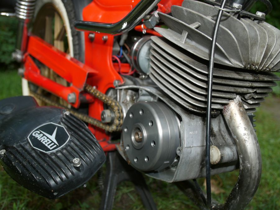 engine with new system