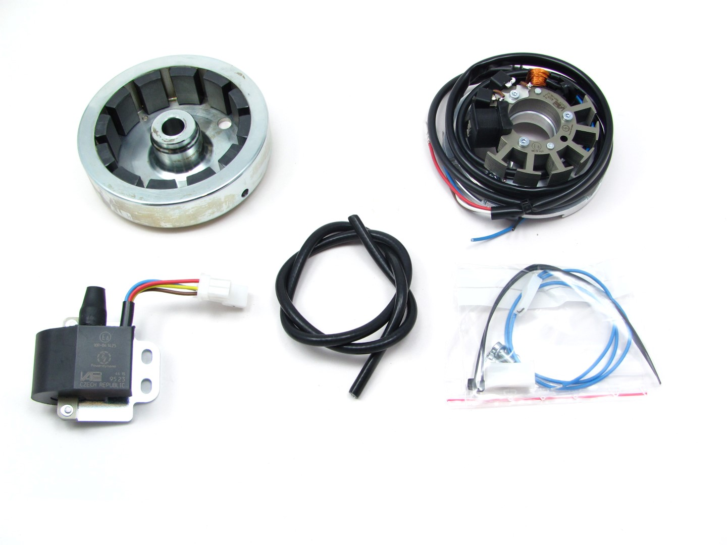 Powerdynamo, system for Ardie MF125 and S125 (with stock Bosch magneto)