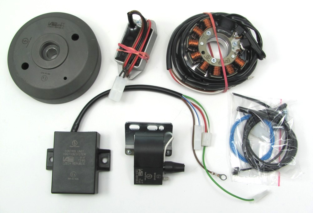 Generator ignition system for Ducati 125 Turismo