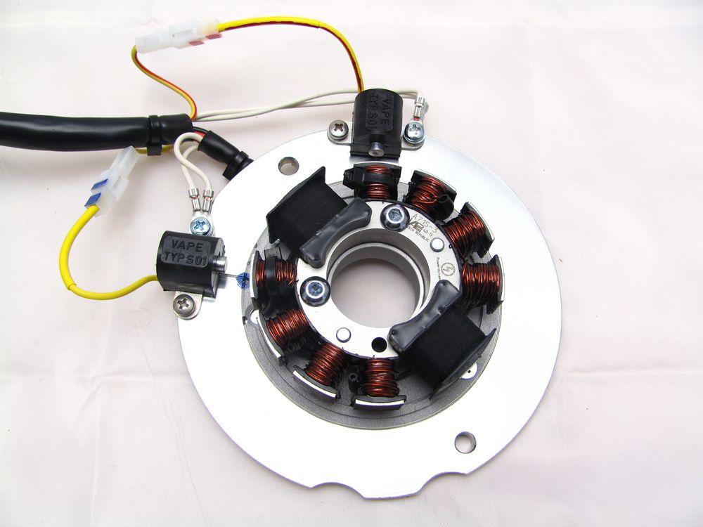 Powerdynamo  Ersatzsystem Passend F U00fcr Yamaha Xs 650 Mit Welle 277 Oder 270 Grad